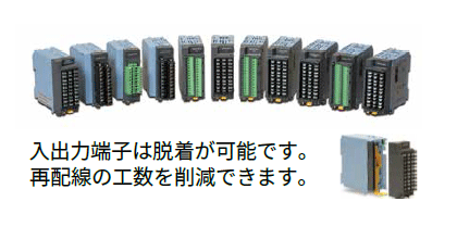 Select from a wide range of I/O modules