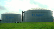 NEWater storage tanks