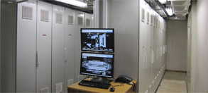 Instrument technical room