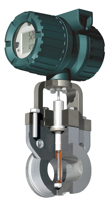multivariable vortex flow meter
