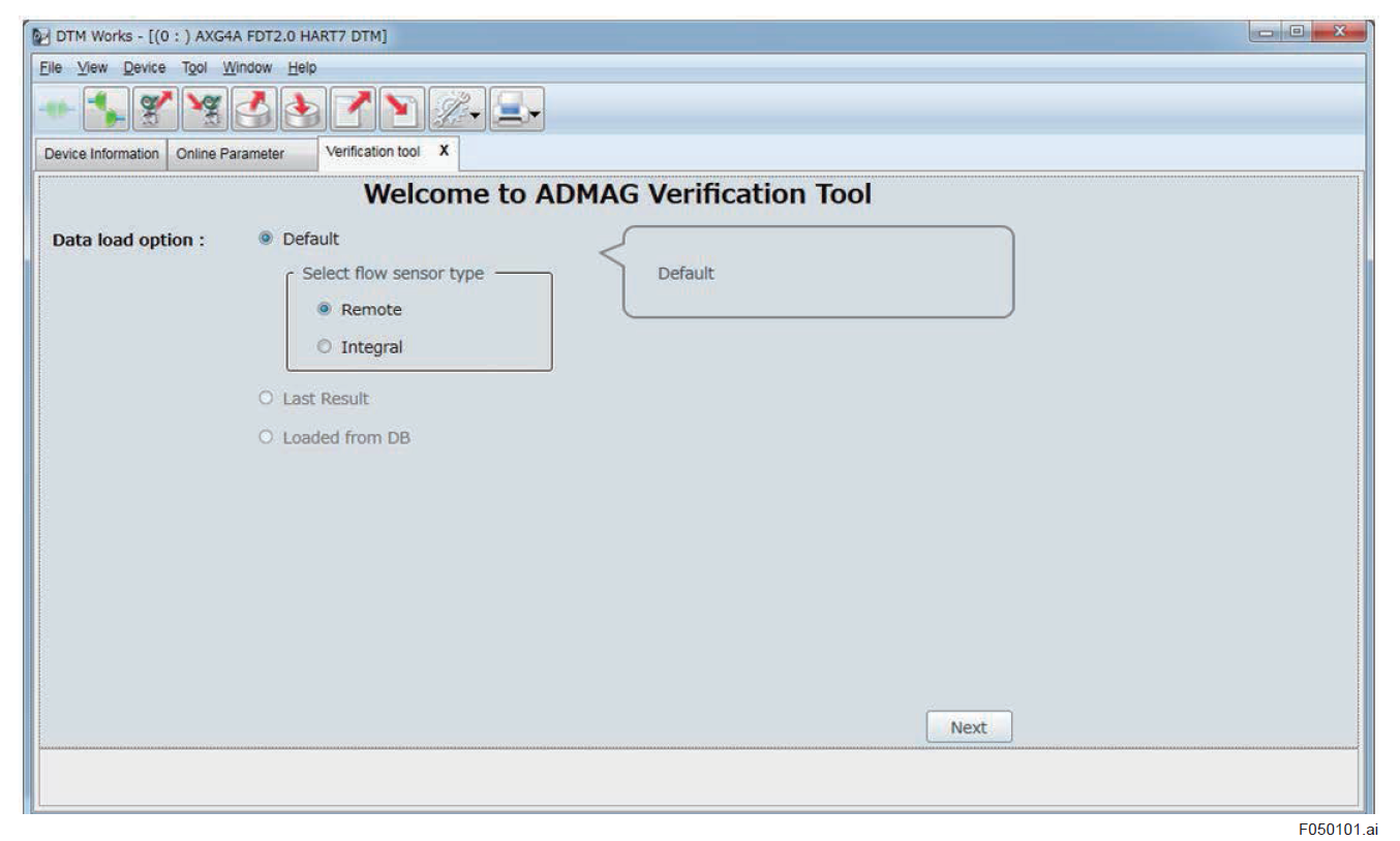 ADMAG TI Verification Tool