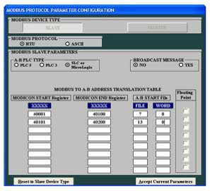 Samples of Equustek Configuration Software 2