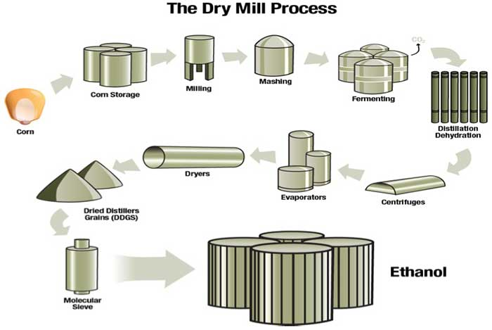 The Dry Mill Process