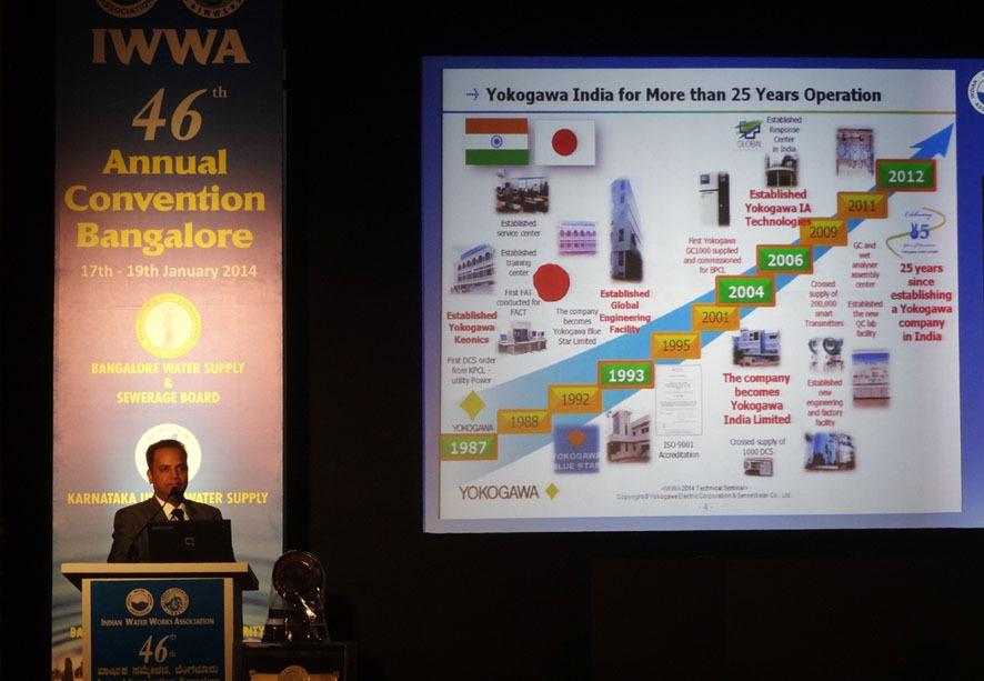 Yokogawa Presentation at 46th IWWA Annual Convention