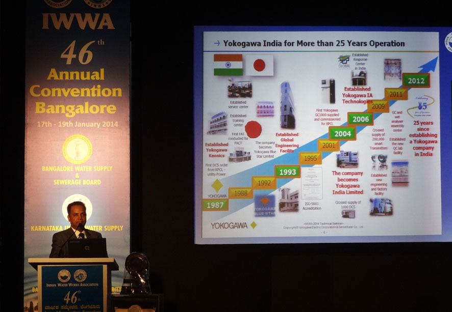 Yokogawa Presentation at 46th IWWA Annual Convention