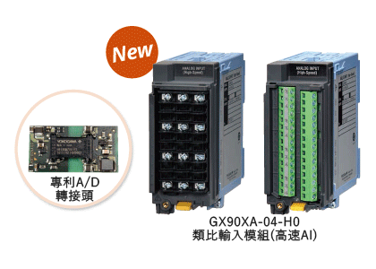 GX90XA-04-H0 Analog input module (high speed AI)