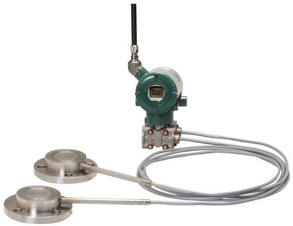 Drahtloser Differenzdruckmessumformer EJX118B mit Druckmittler thumbnail