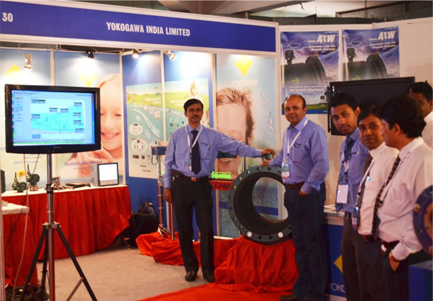 Yokogawa Booth at 46th IWWA Annual Convention