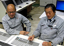 Kunio Furuuchi and Kazushige Chiba of the Idemitsu Technology & Engineering Center