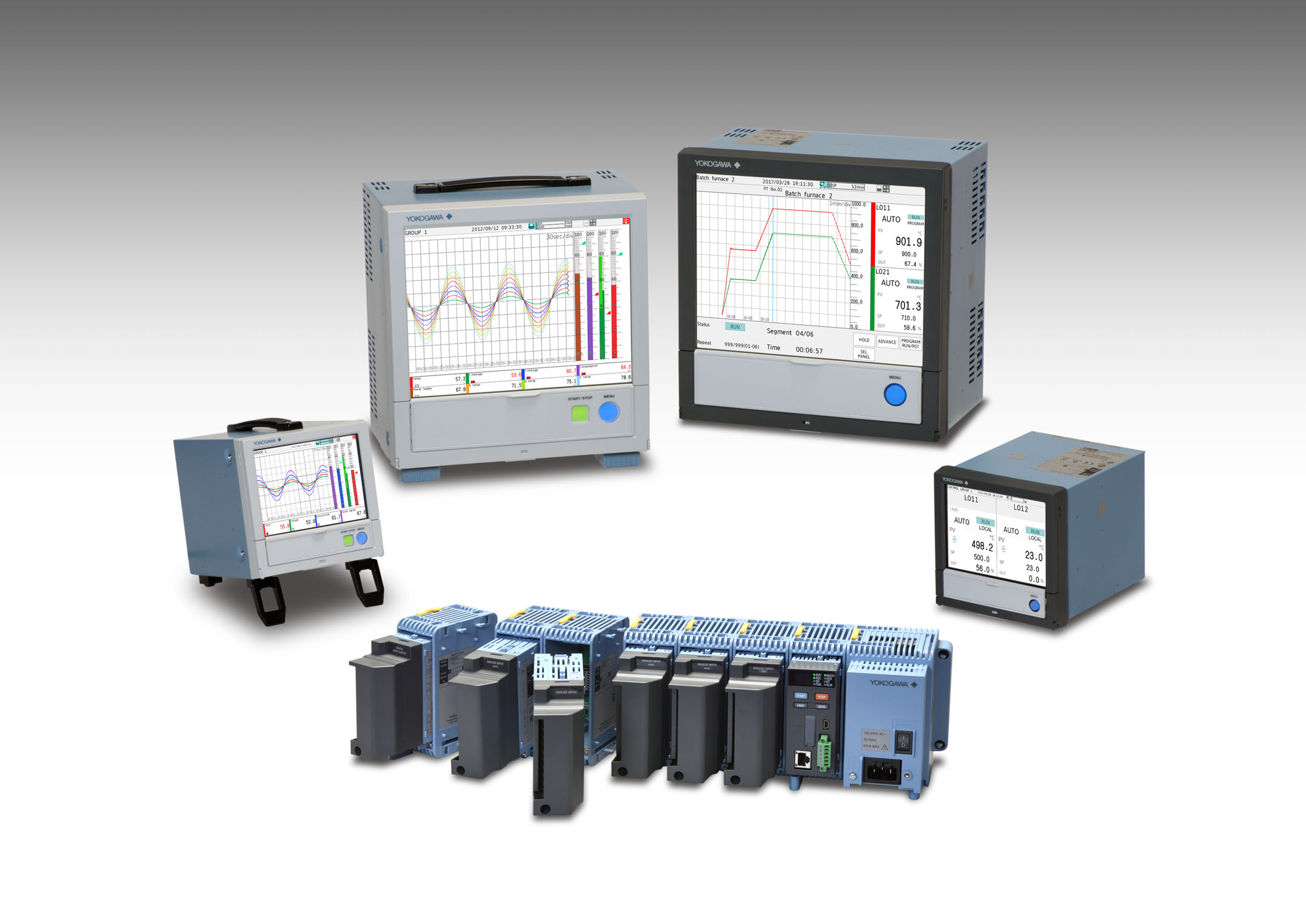 Data Panel Acquisition : Yokogawa introduces release of the smartdac gx gp