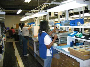 Manufacturing Capabilities - Meter Production Line