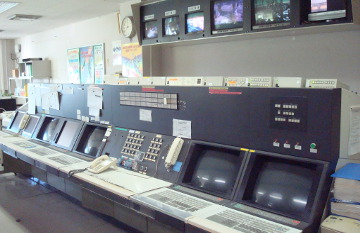 Pre-revamp control room with CENTUM-XL