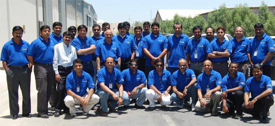 """Talent wins games, but teamwork and intelligence win championships"" - Yokogawa Middle East project team"