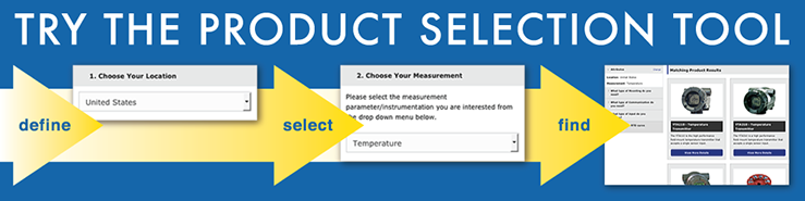 Product Selection Tool Banner