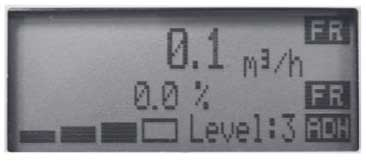 Figure 14 Example of Adhesion Level Display
