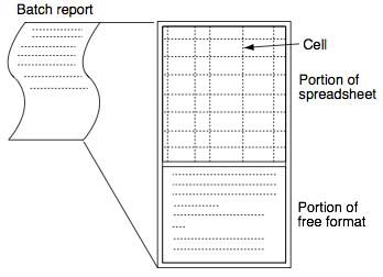 Figure 3 Structure of a Batch Report
