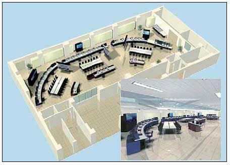 Figure 3 Illustration of consolidated control room concept