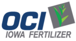 Iowa Fertilizer Company, Wever, Iowa, USA logo