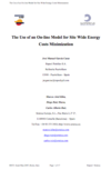 The Use of an On-line Model for Site Wide Energy Costs Minimization thumbnail