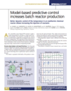 Model-based predictive control increases batch reactor production thumbnail