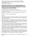 Industrial Experience on the Implementation of Real Time On Line Energy Management Systems in Sugar and Alcohol Industry thumbnail